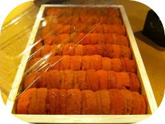 Come and get some of this wonderful Uni from Hokkaido Japan tonight!